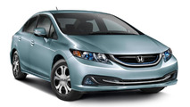 2015 Honda Civic Hybrid and Natural Gas pricing disclosed in United States