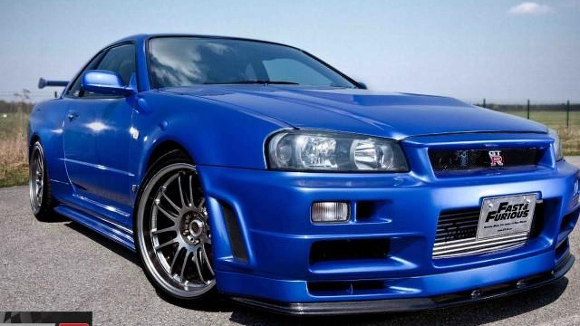 Nissan Skyline GT-R R34 from Fast & Furious 4 on sale