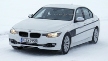 BMW 3-Series Plug-in Hybrid spied cold weather testing