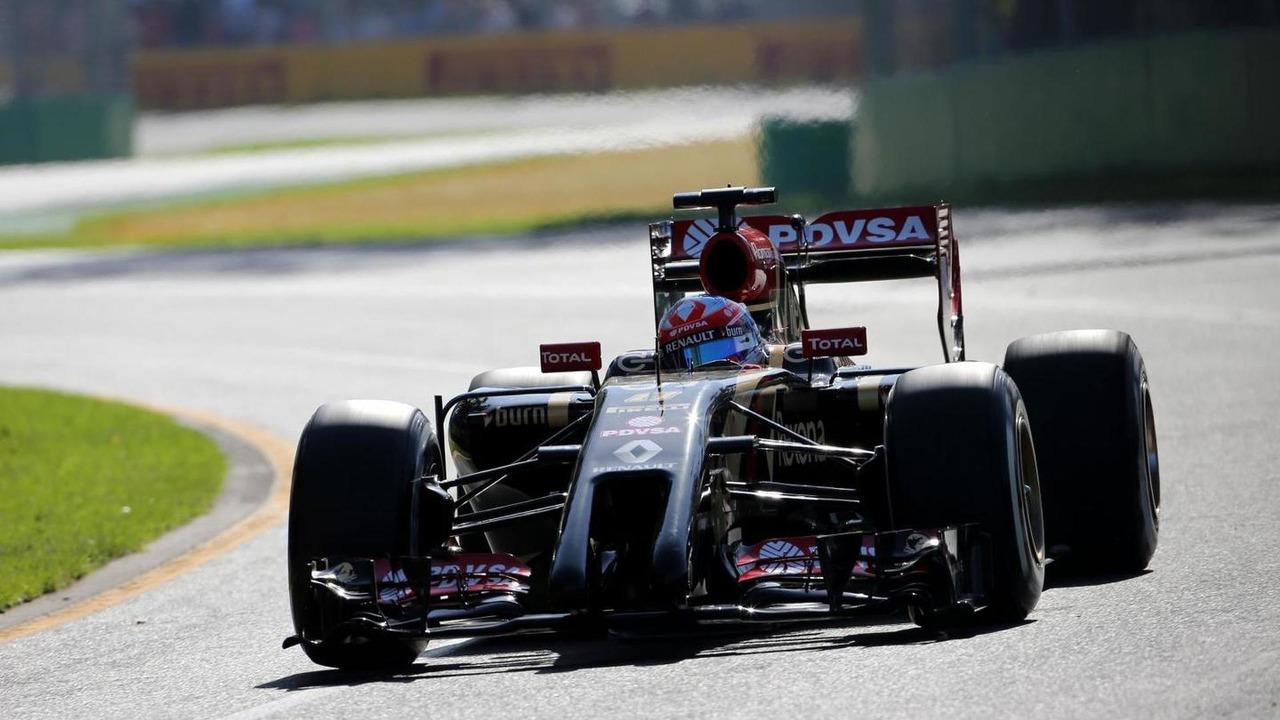 Romain Grosjean (FRA), 14.03.2014, Australian Grand Prix, Albert Park, Melbourne / XPB