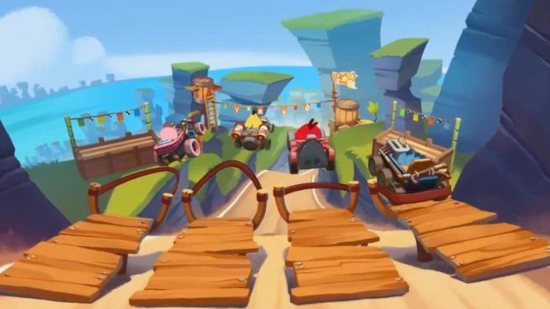 Angry Birds Go! racing gameplay trailer released [video]
