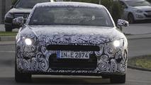 2015 Audi TT spied testing on Nurburgring [video]