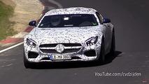 2017 Mercedes-AMG GT C Roadster filmed testing on the Nurburgring