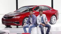 Seat IBL Concept live in Frankfurt with Jaime Alguersuari and Maxi Iglesias 13.09.2011