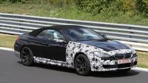 2012 BMW M6 Cabrio spied with less camo