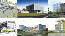 Porsche previews new U.S. headquarters - will include a test track