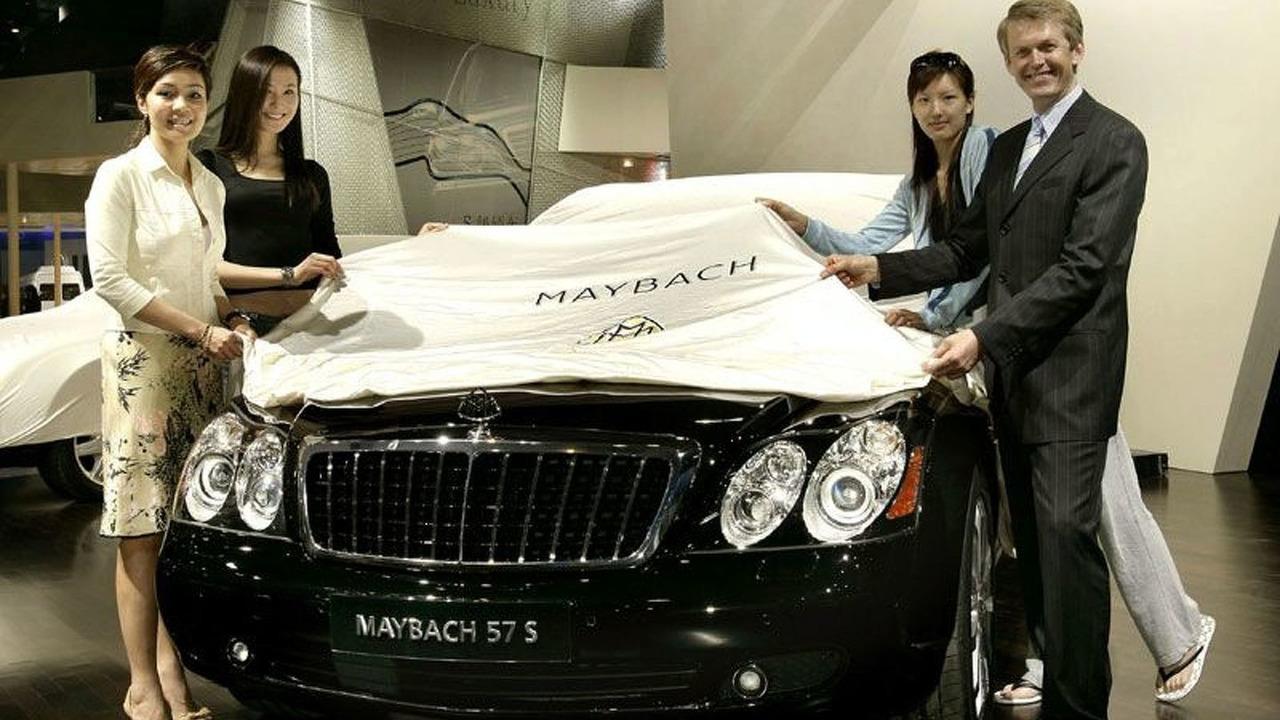 New Maybach 57 S at Auto Shanghai 2005