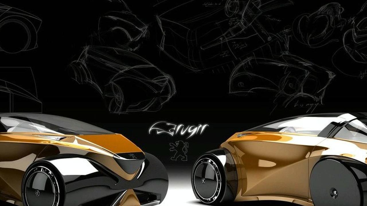 Peugeot 'Rugir' by Onur Güvenc