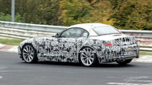 Dynamic Spy Shots of BMW Z4 on the Ring