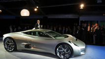 Jaguar C-X75 concept live in Paris with Ian Callum 30.09.2010