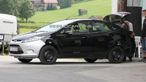 2010 Ford Fiesta sedan for Europe Spied Undisguised