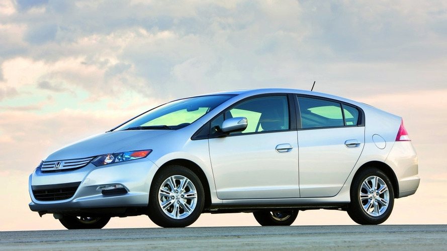 2010 Honda Insight Hybrid Production Car First Photo - World Debut in Detroit