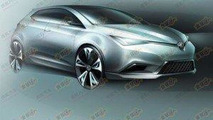 MG5 Concept headed for Auto Shanghai