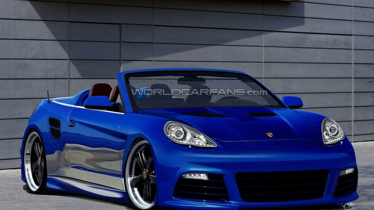 Porsche Panamera Cabrio: Coming soon! - The German Car Blog