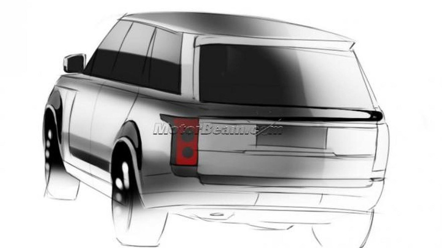 New 2013 Range Rover speculatively rendered
