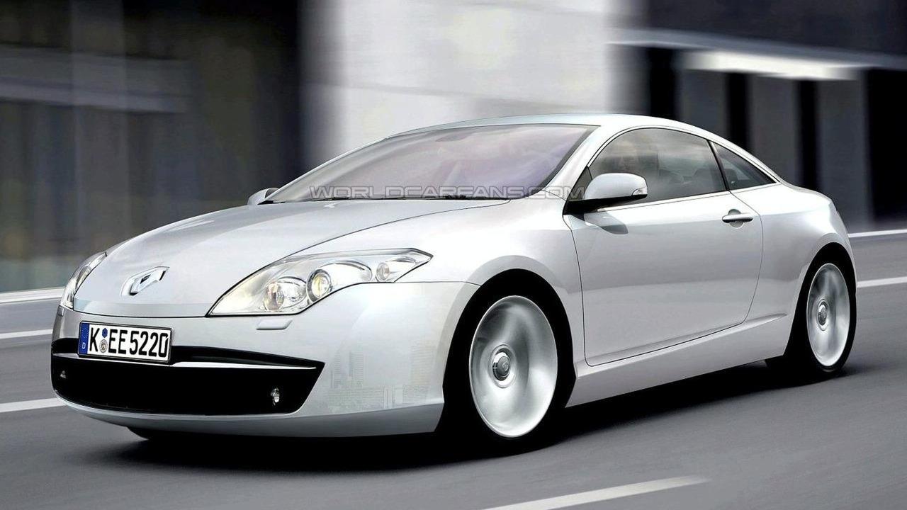 Artist impression: Renault Laguna Coupe