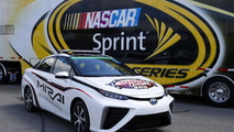 2016 Toyota Mirai pace car unveiled