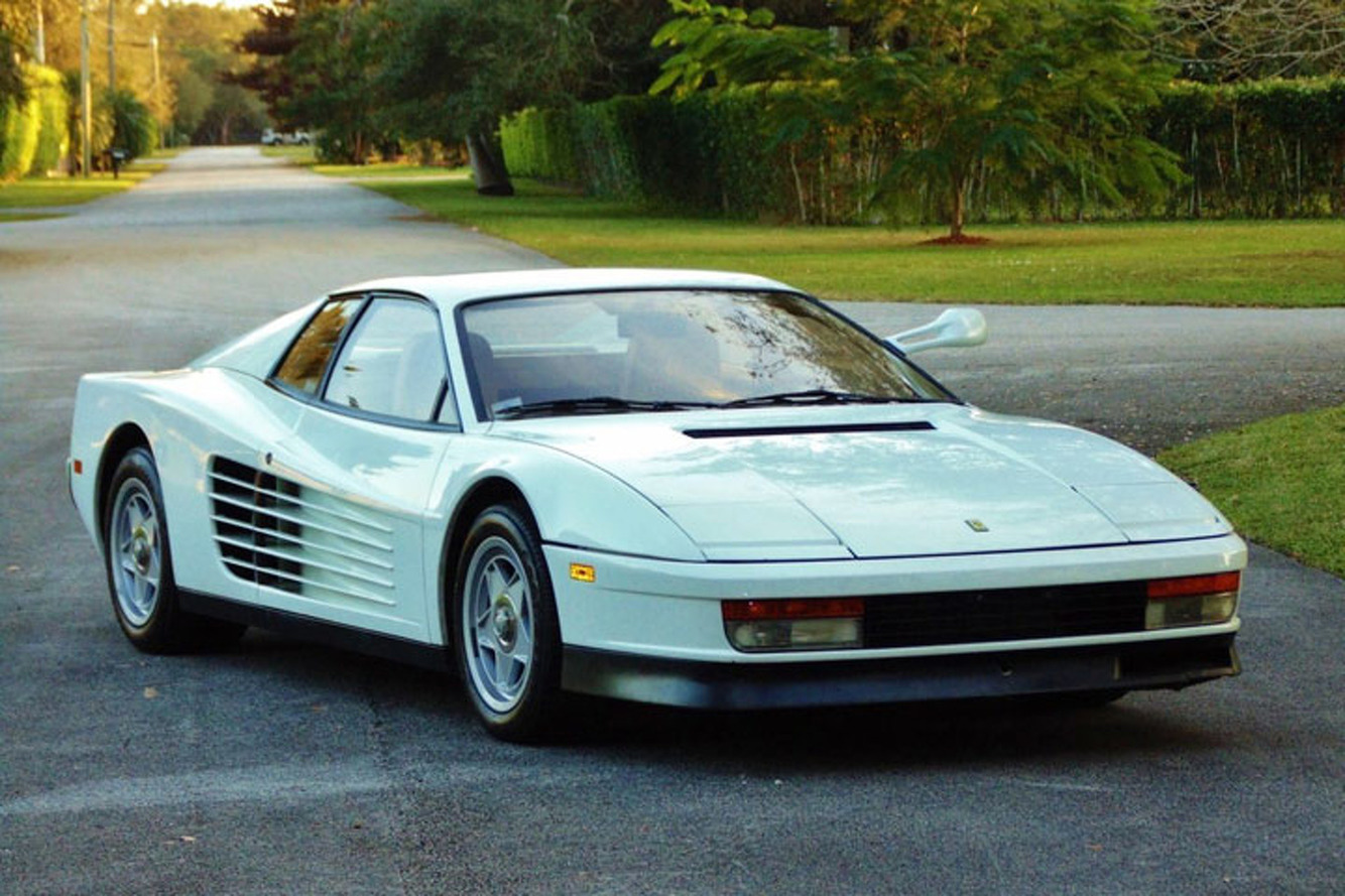Miami Vice Ferrari is Up for Sale at $1.75 Million