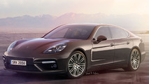 2017 Porsche Panamera speculative render is probably spot on