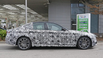 2017 BMW 5 Series with M Sport package spy photo