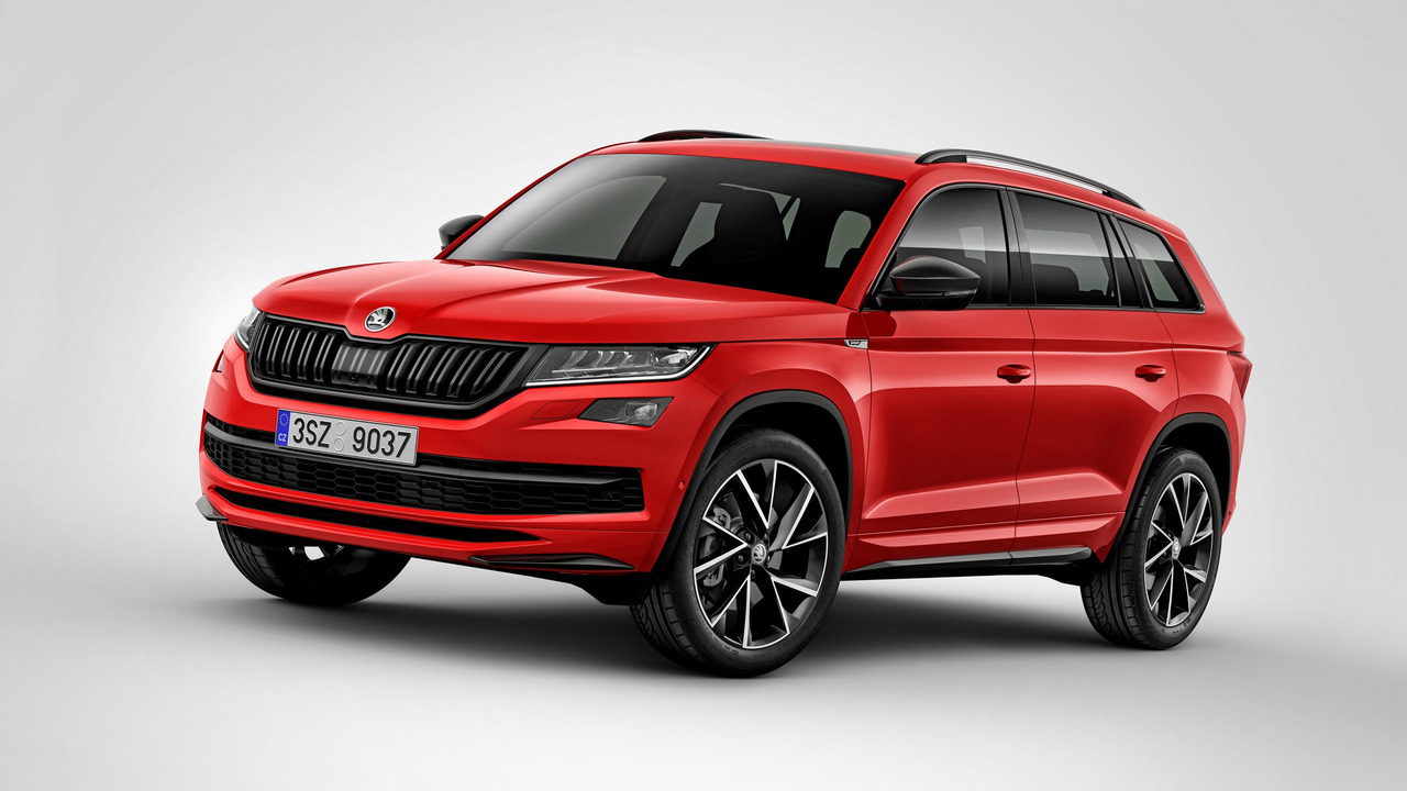 Skoda Kodiaq Sportline looks faster, but it isn't