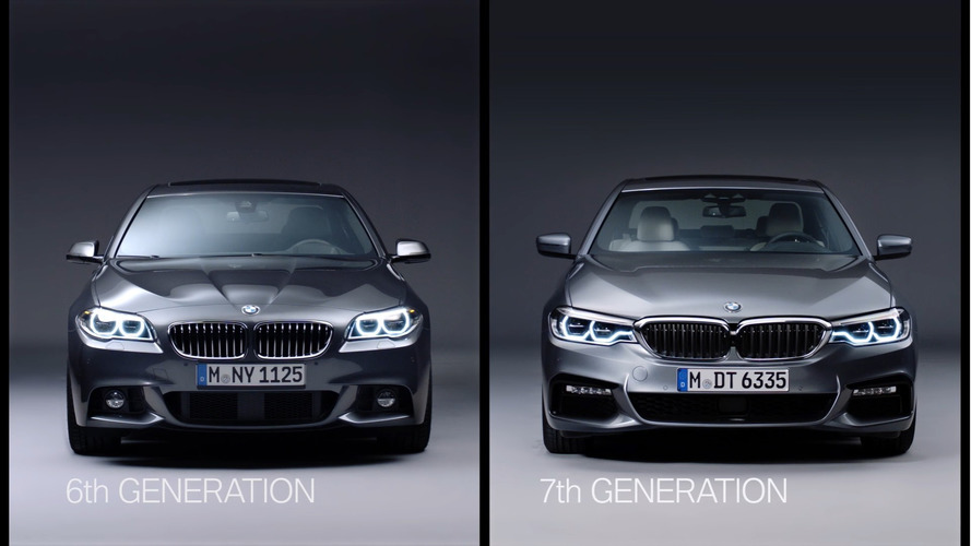 Old vs new: BMW 5 Series F10 and G30 video comparison
