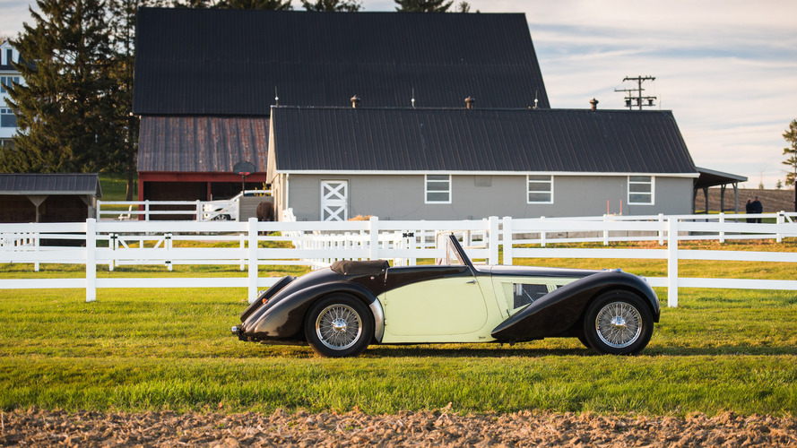 1937 Bugatti Type 57S Cabriolet