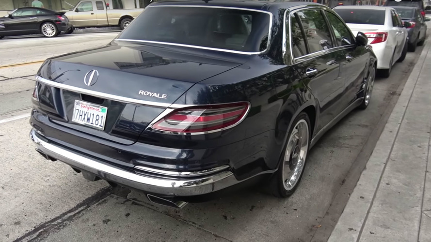 Une mystérieuse Mercedes S600 Royale affole la toile