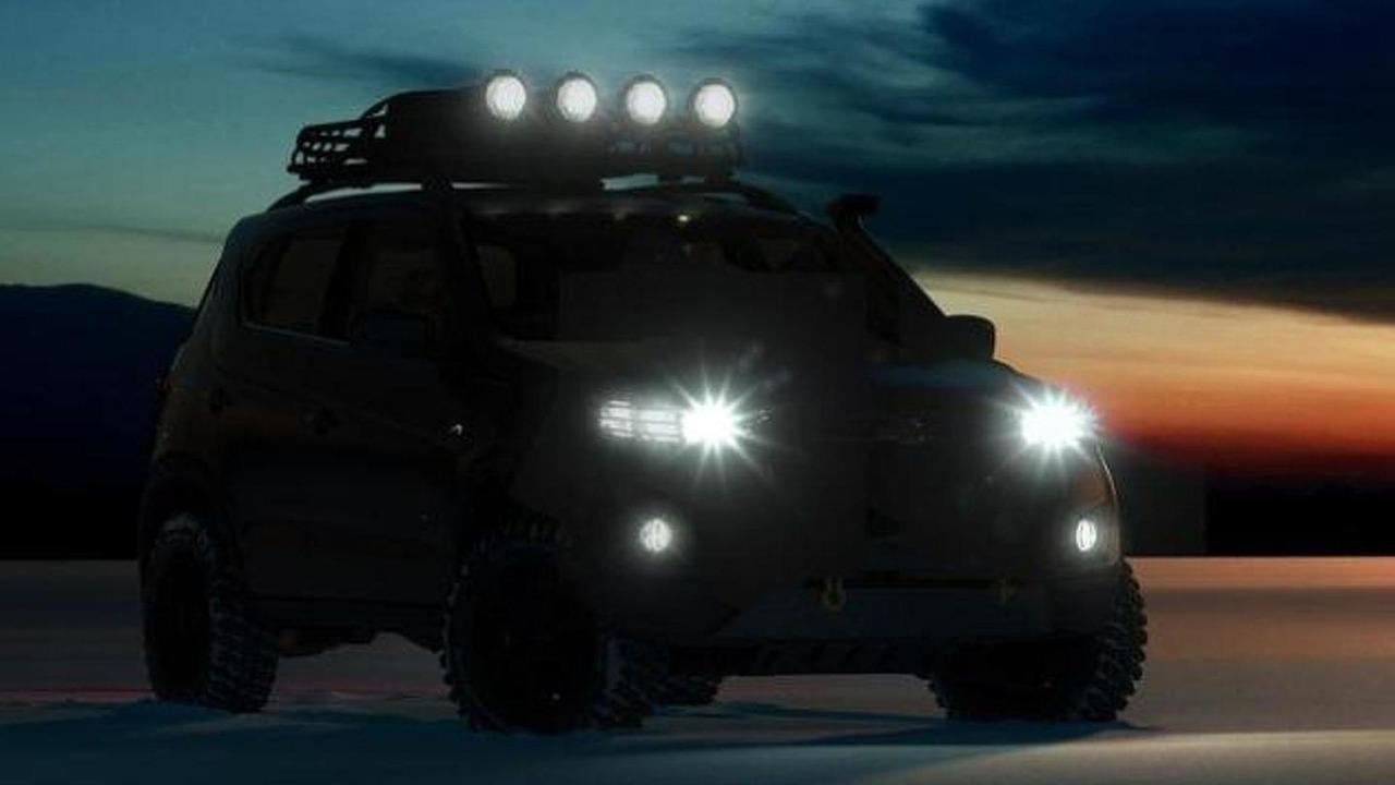 2014 Chevrolet Niva concept teaser