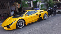 Aurelio wants to be the first supercar from Philippines