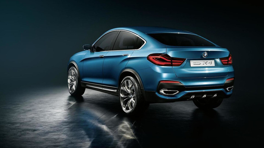 BMW X4 Concept shown in the metal at BMW Welt [video]