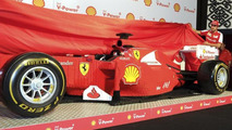 Lego-made Ferrari F1 car showcased in Melbourne [video]