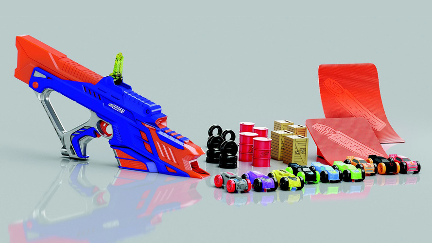 Nerf Nitro is the toy gun that shoots cars you've fantasized about