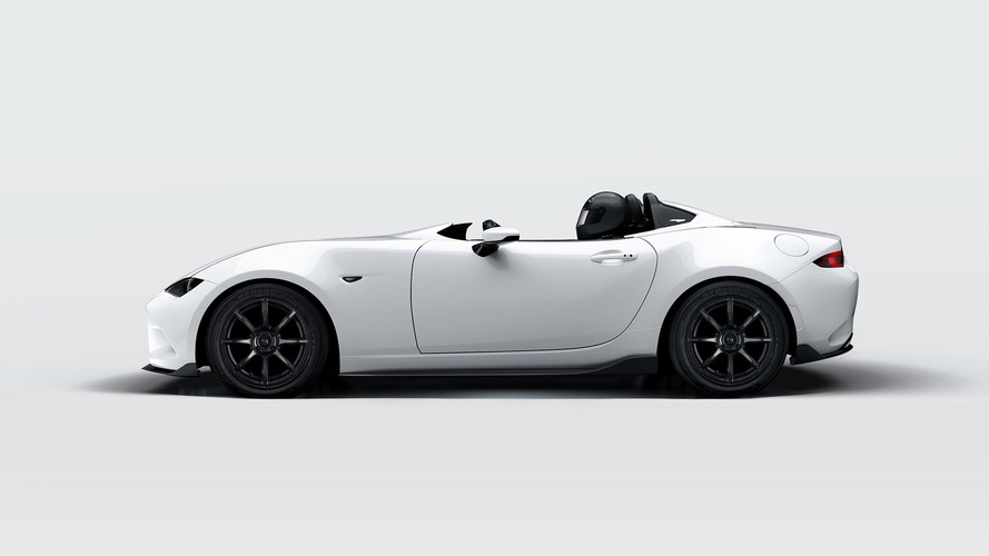 Mazda's featherlight MX-5 Speedster loses even more weight for SEMA