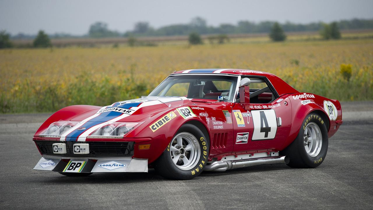 1968 Corvette No. 4 Race Car