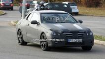 Mercedes E Class Coupe Convertible Spy Video