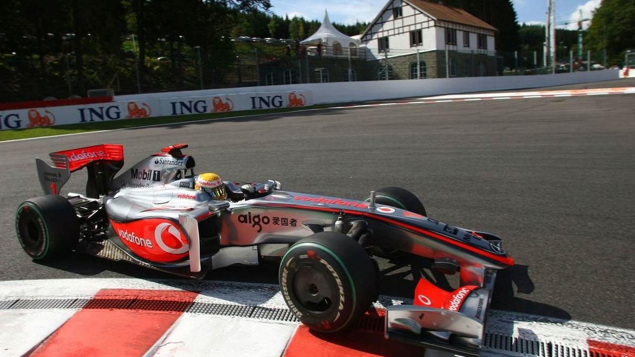 Lewis Hamilton (GBR), Belgian Grand Prix, Francorchamps, Belgium 28.08.2009