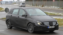 2012 Mercedes-Benz B-Class spied with new details