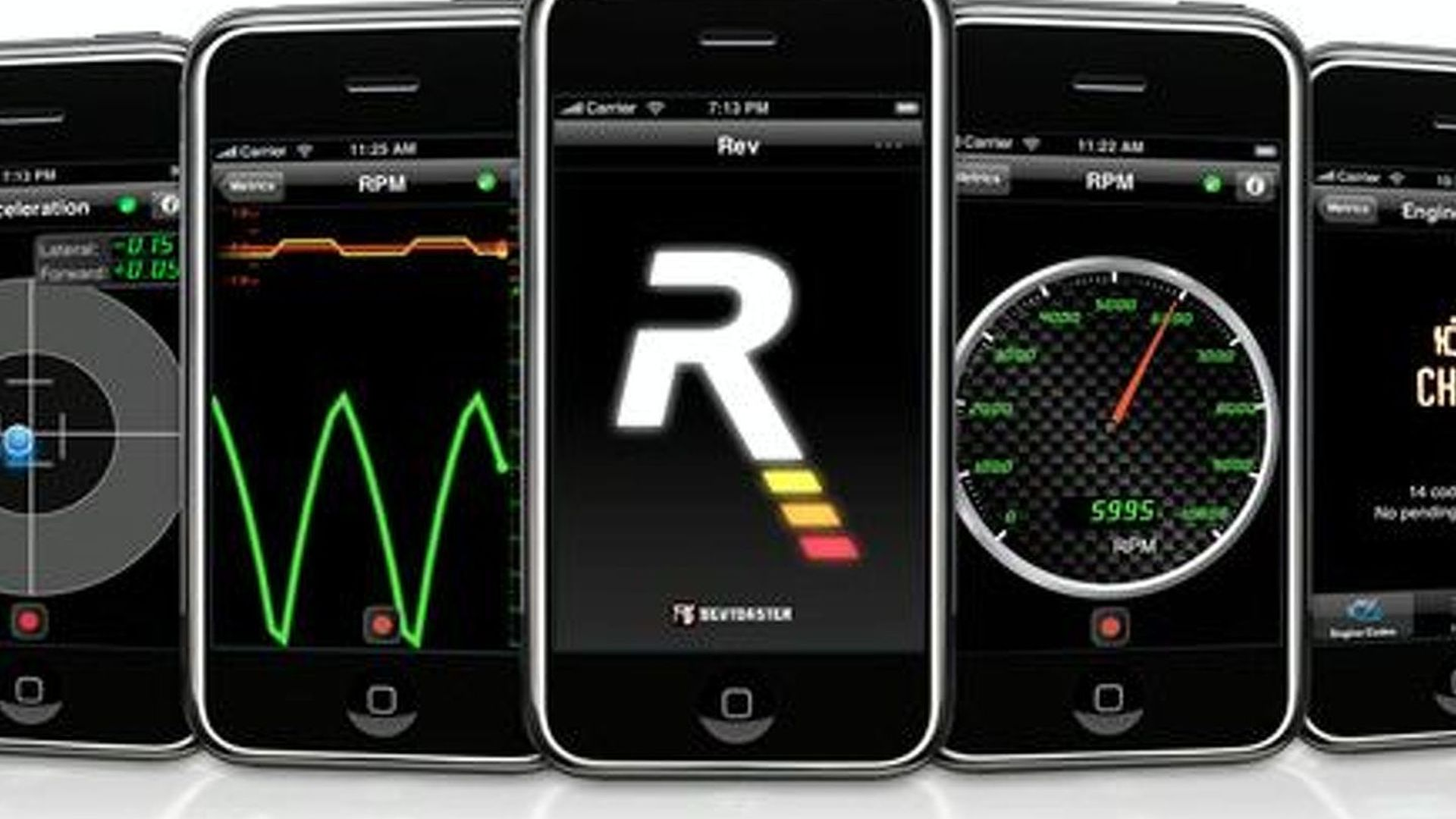 REV App Turns iPhone Into Performance Driving and OBDII Diagnostics Tool