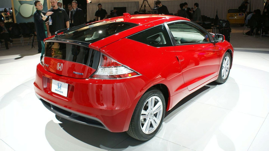 2011 Honda CR-Z Sport Hybrid Coupe Makes Production Debut in Detroit
