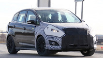 Ford C-Max facelift spied in Michigan