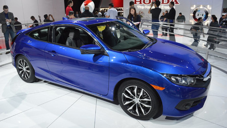 Honda Civic Coupe earns Top Safety Pick+ award