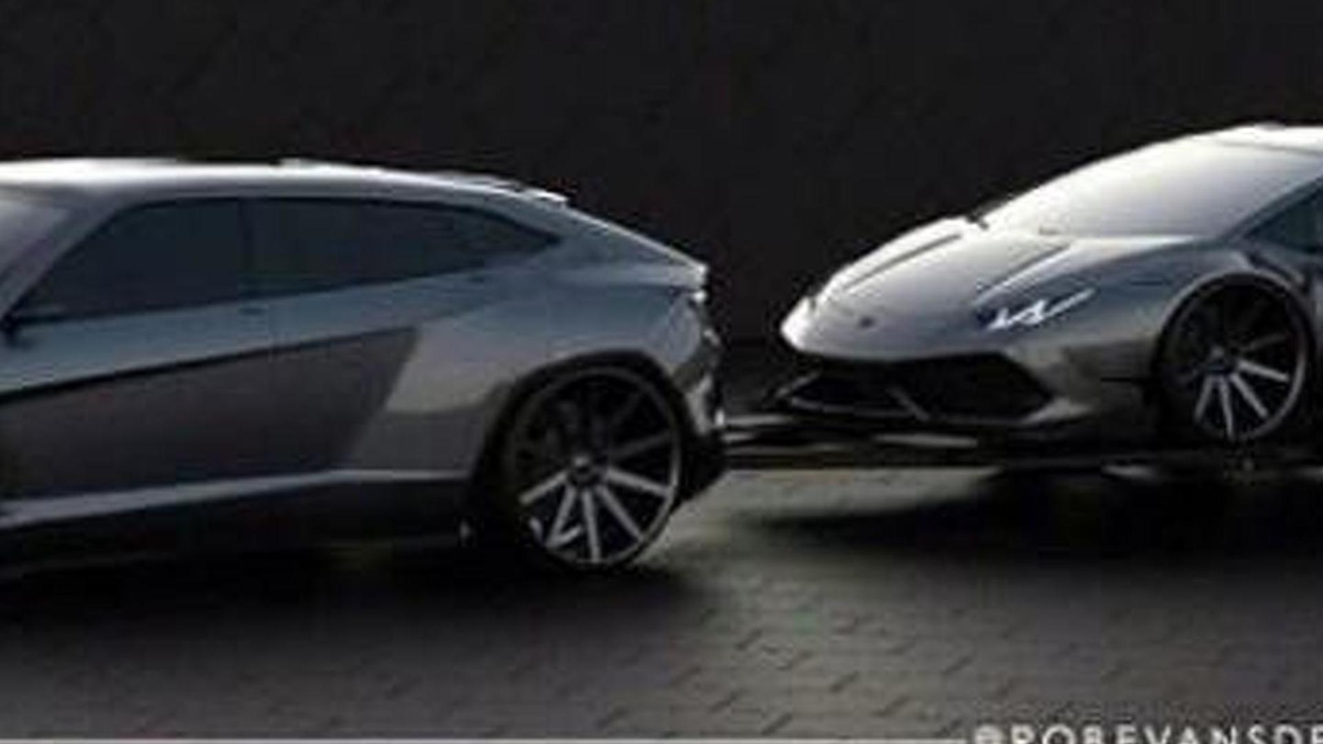 Future Lamborghini Suv Rendered Could Actually Happen In 2017