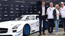 Mercedes SLS AMG GT3 Laureus special edition