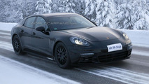 2016 Porsche Panamera shows off its sleeker shape in new spy photos