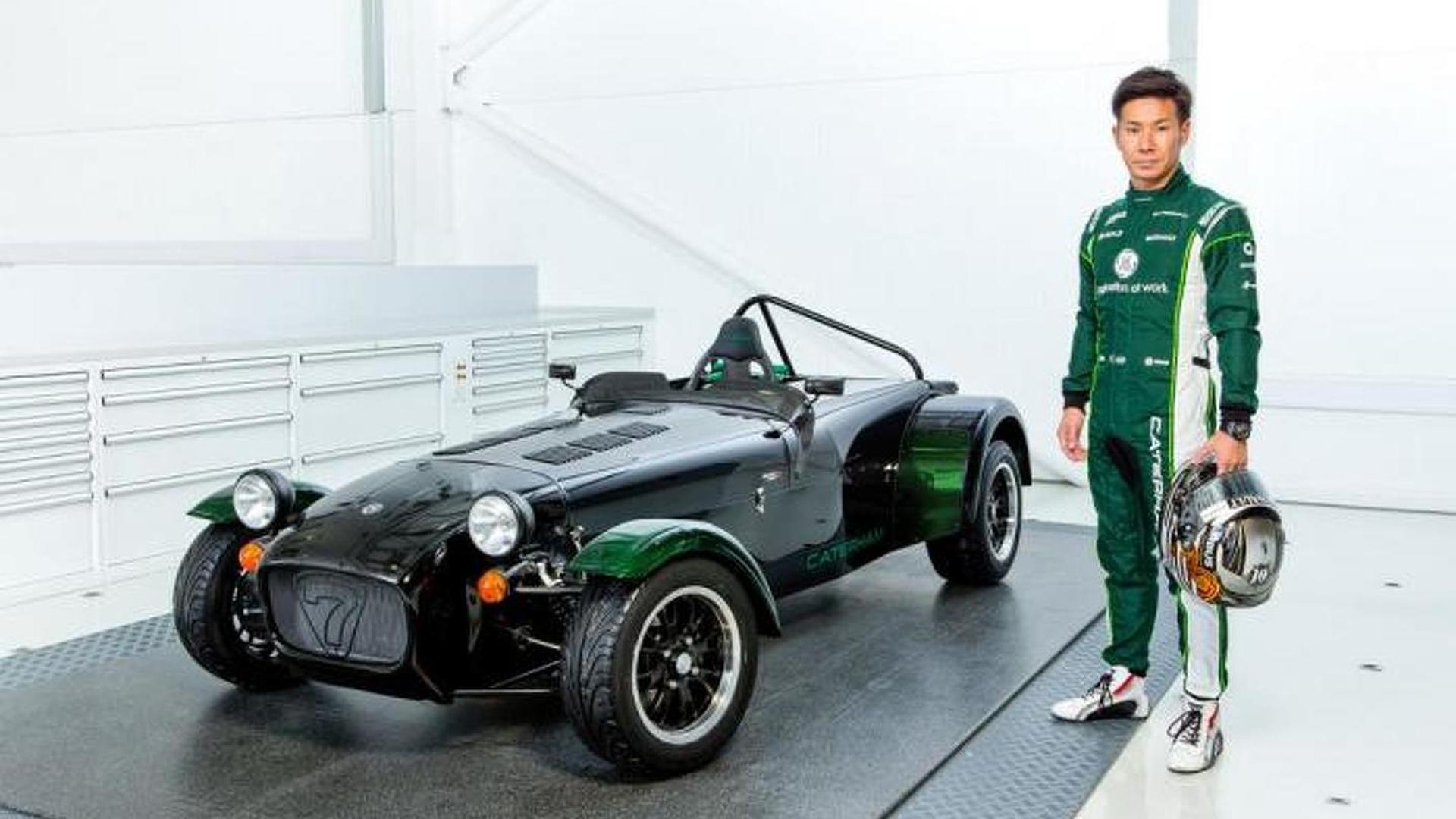 Caterham Seven Kamui Kobayashi special edition announced for Japan