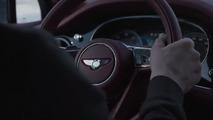 2016 Bentley Bentayga screenshot from teaser video