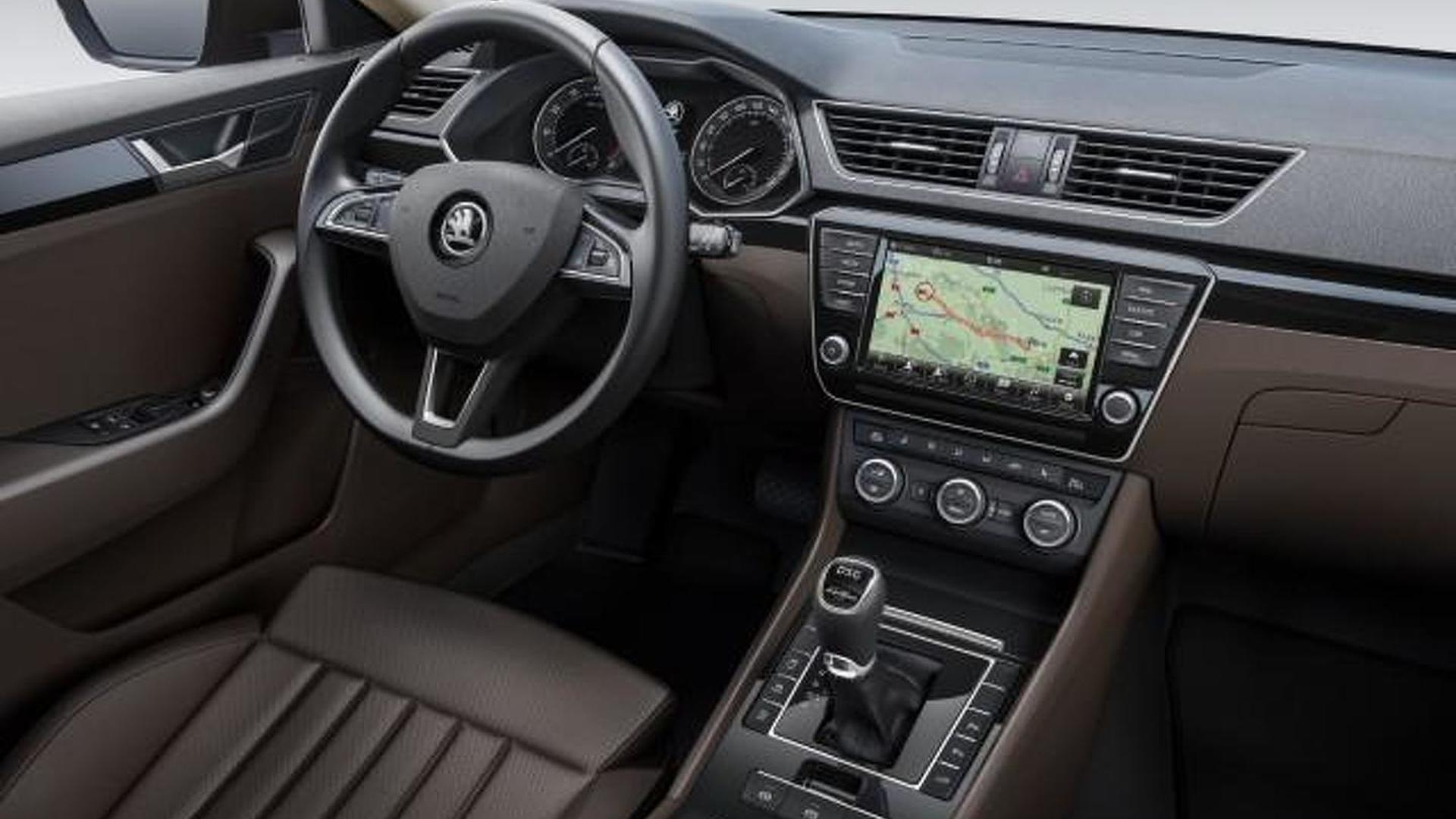 2015 Skoda Superb interior cabin revealed