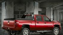 Chevrolet HD Crew Z71 'Big Red' at SEMA