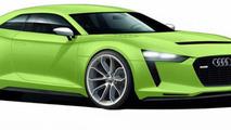 2014 Audi TT speculative artist rendering 29.03.2013